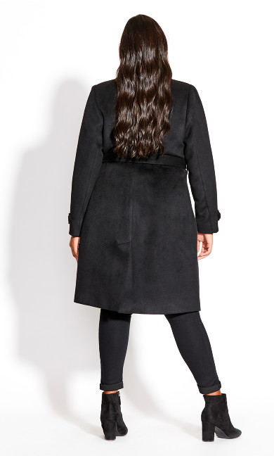 So Sleek Coat - black