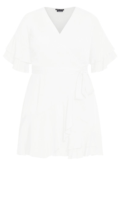 Fiesta Fun Dress - ivory