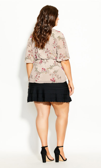 Flower Child Top - oatmeal