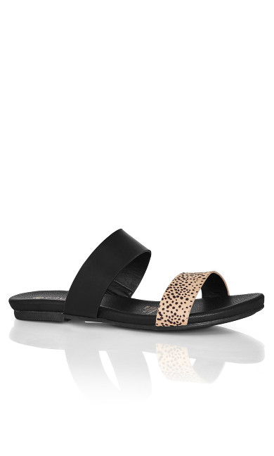 Plus Size Elina Slide - animal