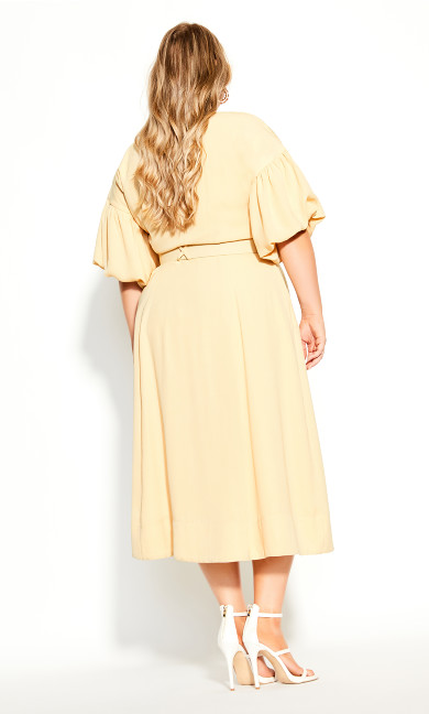 Golden Minute Dress - straw