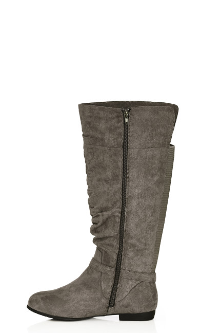 Beacon Tall Boot - gray