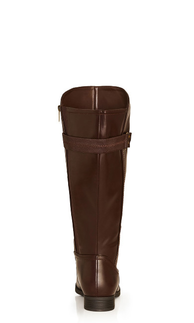 Lina Tall Boot - brown