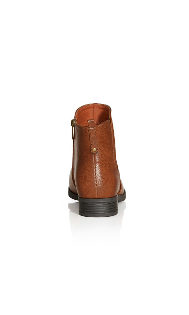 Brigitte Ankle Boot - brown