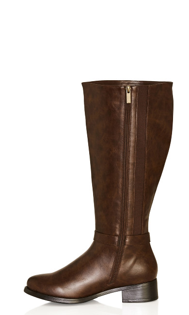 Alex Tall Boot - brown