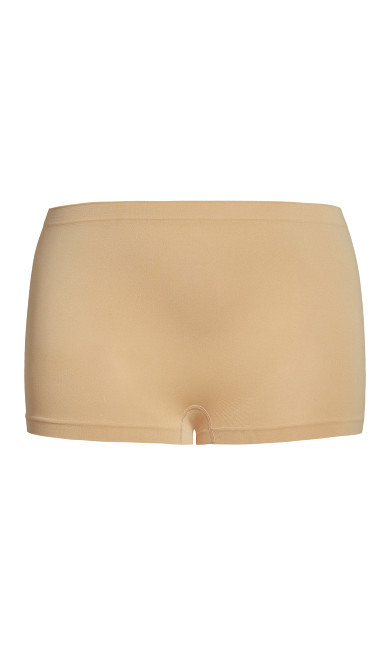 Seamless Boyshort Brief - beige