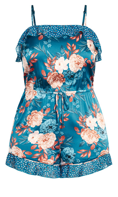 Amy Playsuit - teal