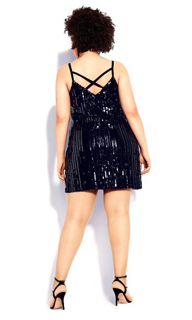 Glam Nights Dress - black