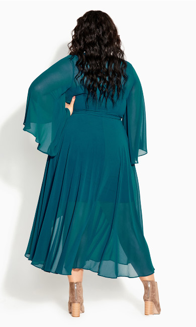 Fleetwood Maxi Dress - teal