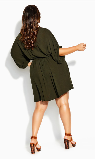 Endless Summer Tunic - khaki