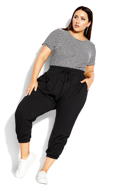 Lazy Days Pant - black