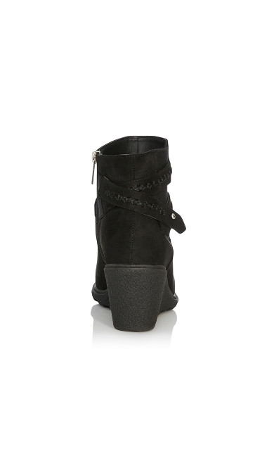 Alanna Wedge Bootie - black