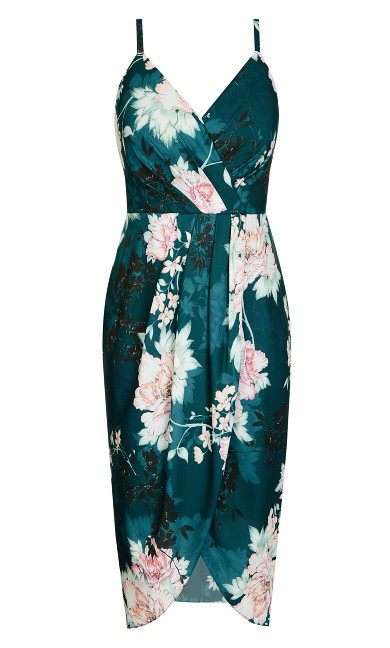 Jade Bloom Dress