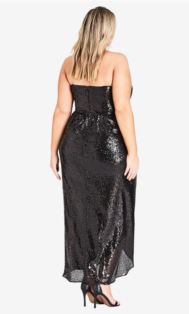 Sequin Siren Maxi Dress