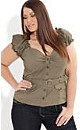 Miss Military Top