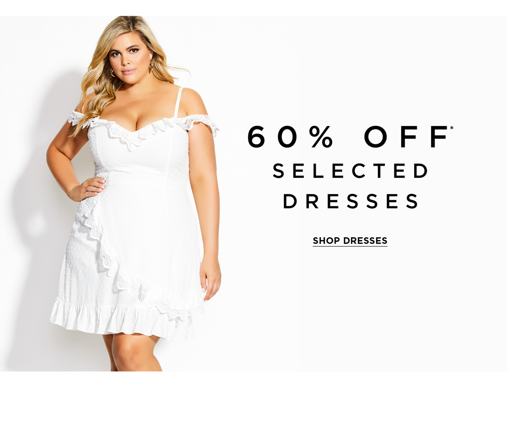 60% Off Selected Dresses